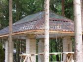 Стеклянная крыша барбекю