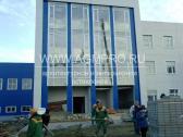 Остекление фасада г. Домодедово